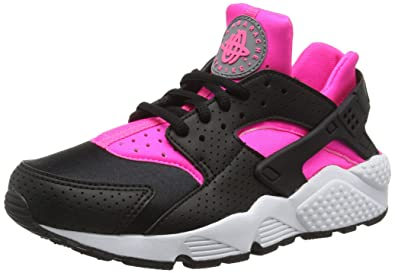 nike huarache womens white and pink