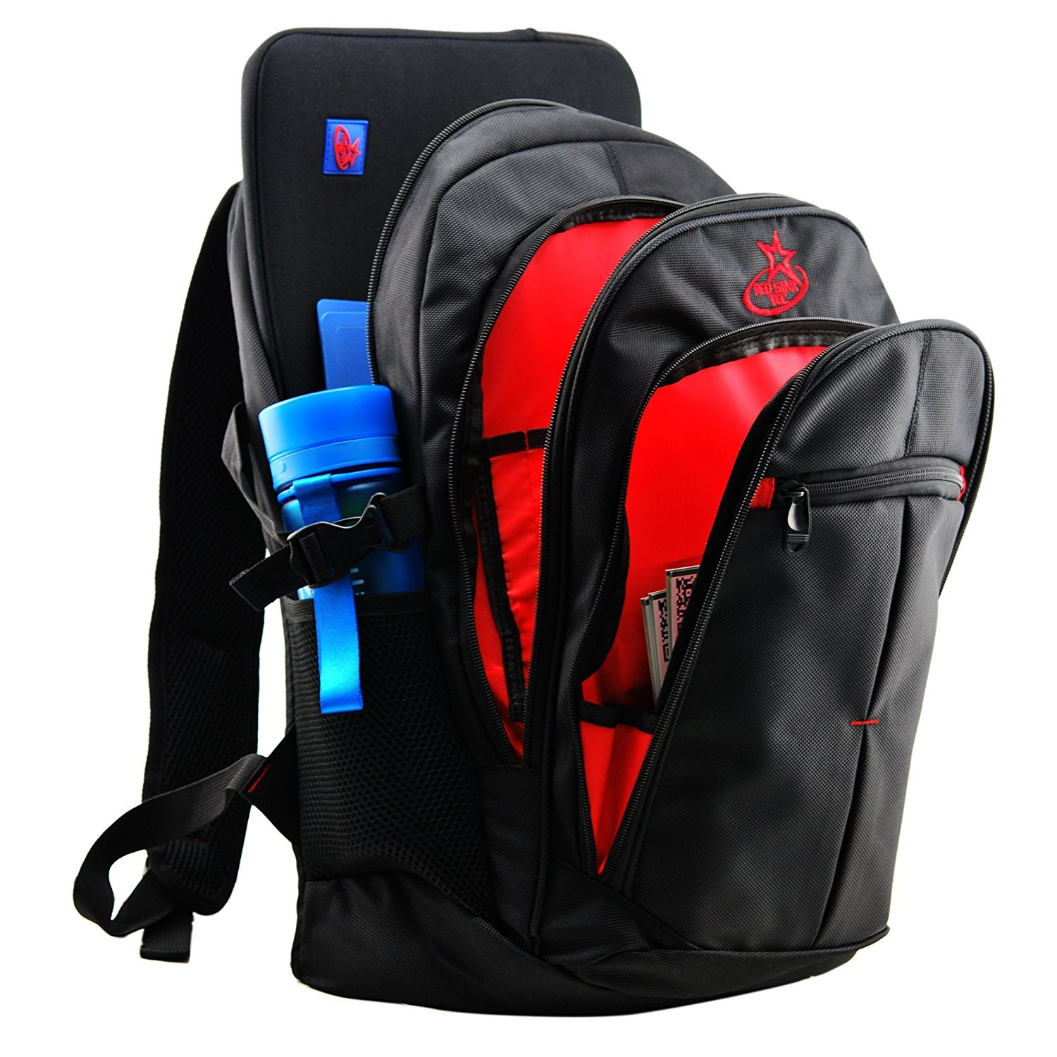 RedStarTec 17 Inch Laptop Backpack Computer Bag – With 15.6 in Laptop Sleeve