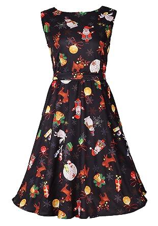 Dreagal Vintage 1950's Floral Spring Garden Party Picnic Dress ...