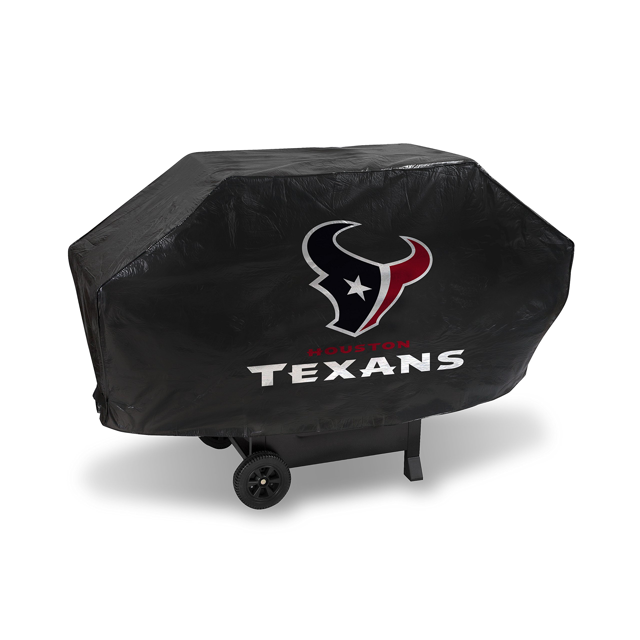 Rico Industries NFL Houston Texans Deluxe Vinyl Padded Grill Cover