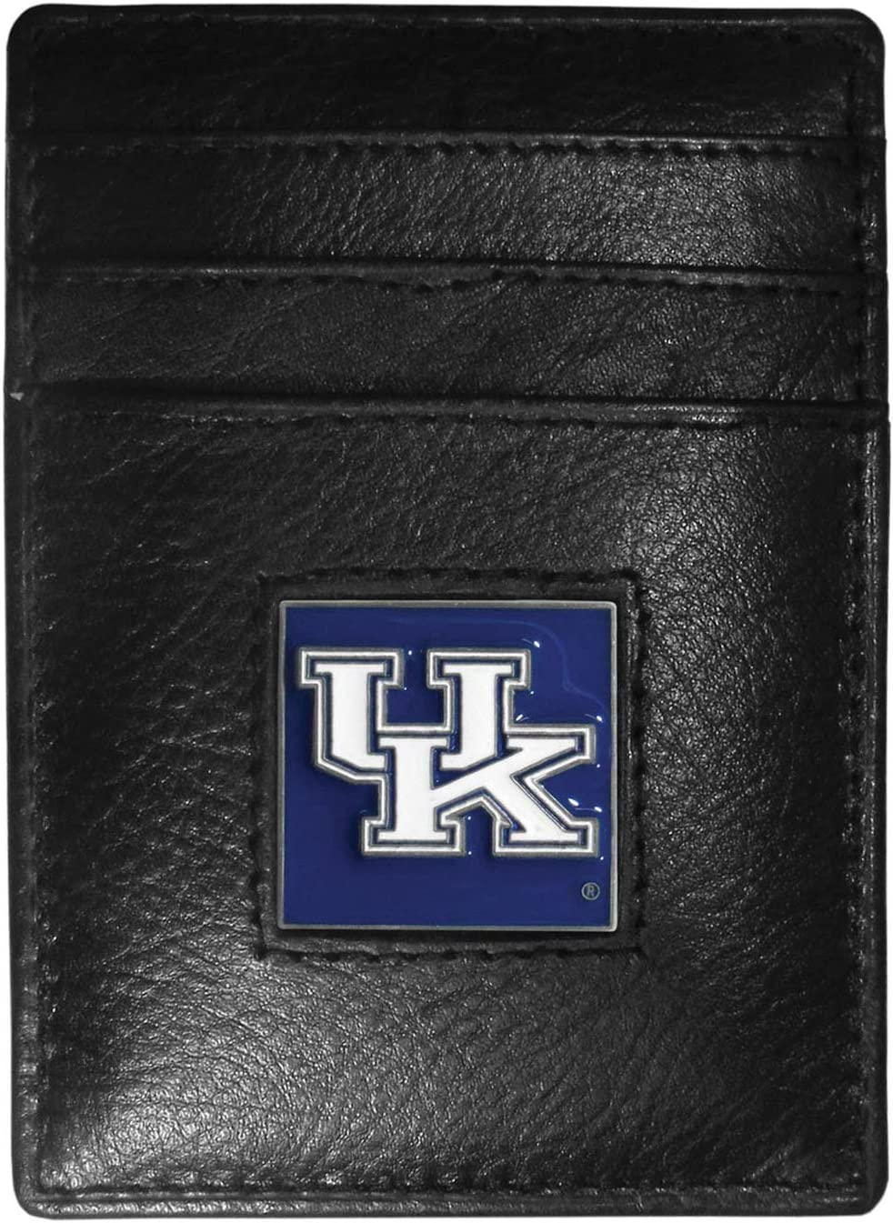 NCAA Siskiyou Sports Mens Kentucky Wildcats Leather Money Clip//Cardholder Packaged in Gift Box One Size Black