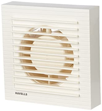 Attractive Havells Ventilair 100mm Exhaust Fan With Window (White)