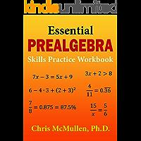Essential Prealgebra Skills Practice Workbook (English Edition)