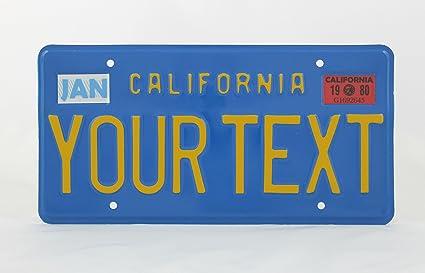 License Plates Shop Kretschmer California US Estados Unidos ...