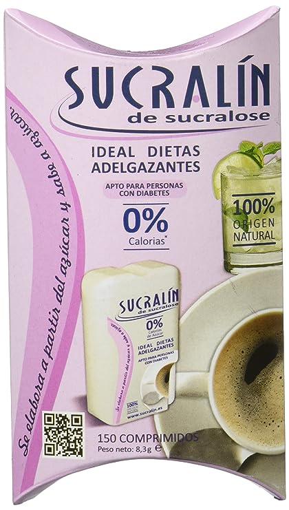 Sucralín - Edulcorante a base de sucralosa, 150 comprimidos