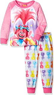 Trolls Girls 2-Piece Fleece Pajama Set