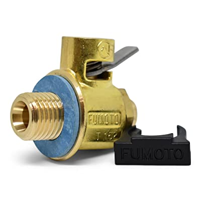 Fumoto F108S FS-Series Drain Valve with Short Nippple with Lever Clip: Automotive