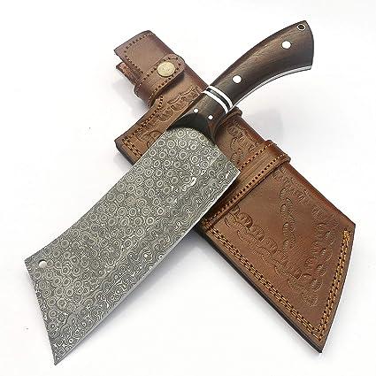 Amazon.com: JNR Traders hecho a mano acero de Damasco ...