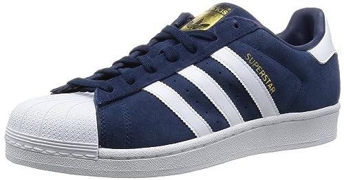 adidas Originals Herren Superstar Suede Sneakers