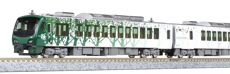 KATO Nゲージ HB-E300系 リゾートしらかみ ブナ編成 4両セット 10-1463 鉄道模型 ディーゼルカー B0767DNH48