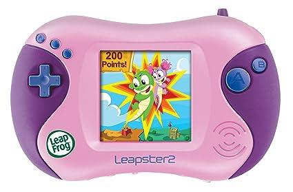 amazon com leapfrog leapster 2 learning game system pink toys rh amazon com LeapFrog Leapster 2 Accessories LeapFrog Leapster 2 Downloadable Games