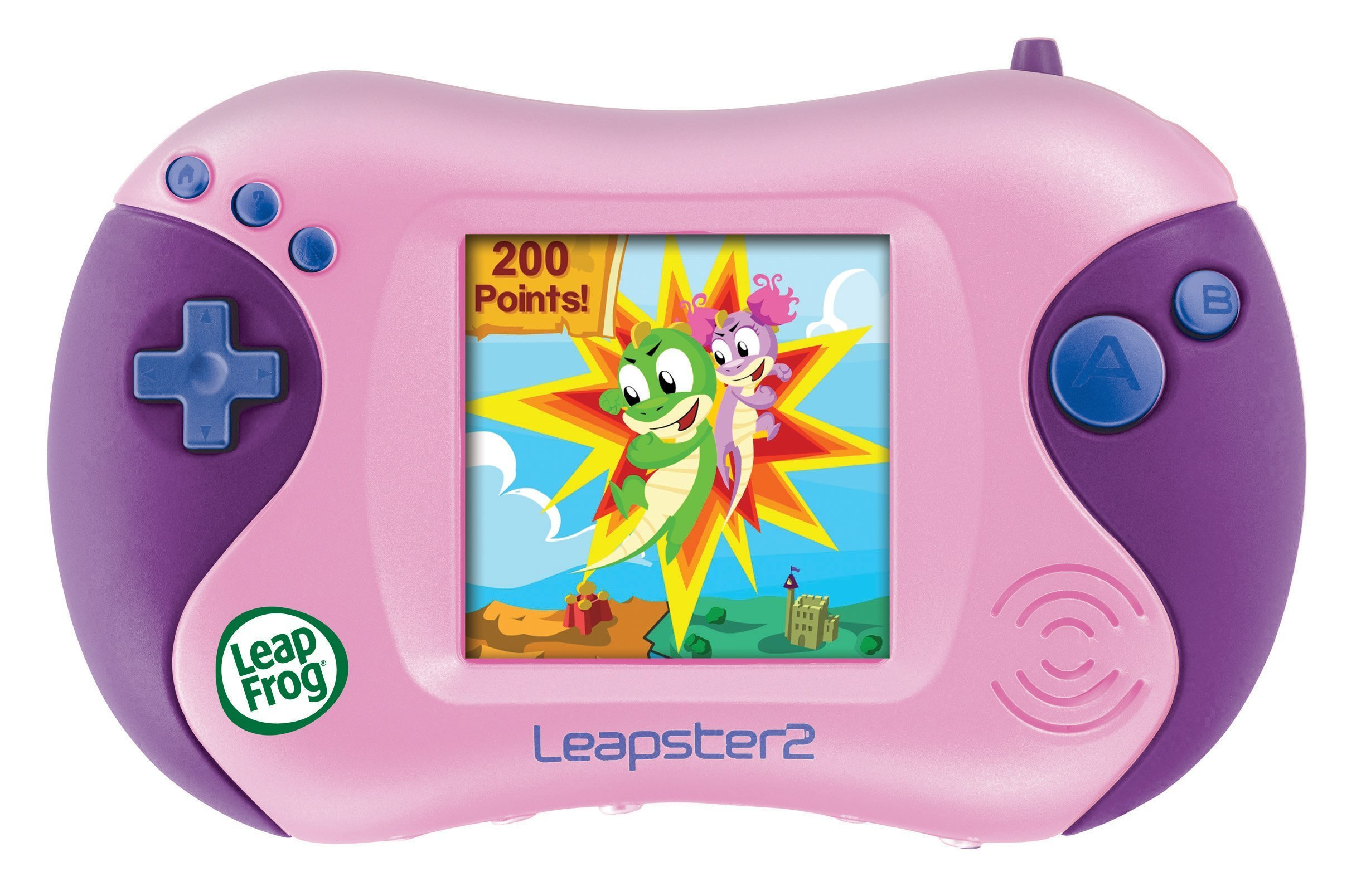 LeapFrog Leapster 2 Learning Game System - Pink by LeapFrog (Image #1)