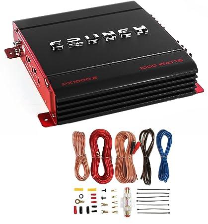 Amazon crunch px 10002 2 channel 1000 watt amp ab car stereo crunch px 10002 2 channel 1000 watt amp ab car stereo amplifier greentooth Choice Image