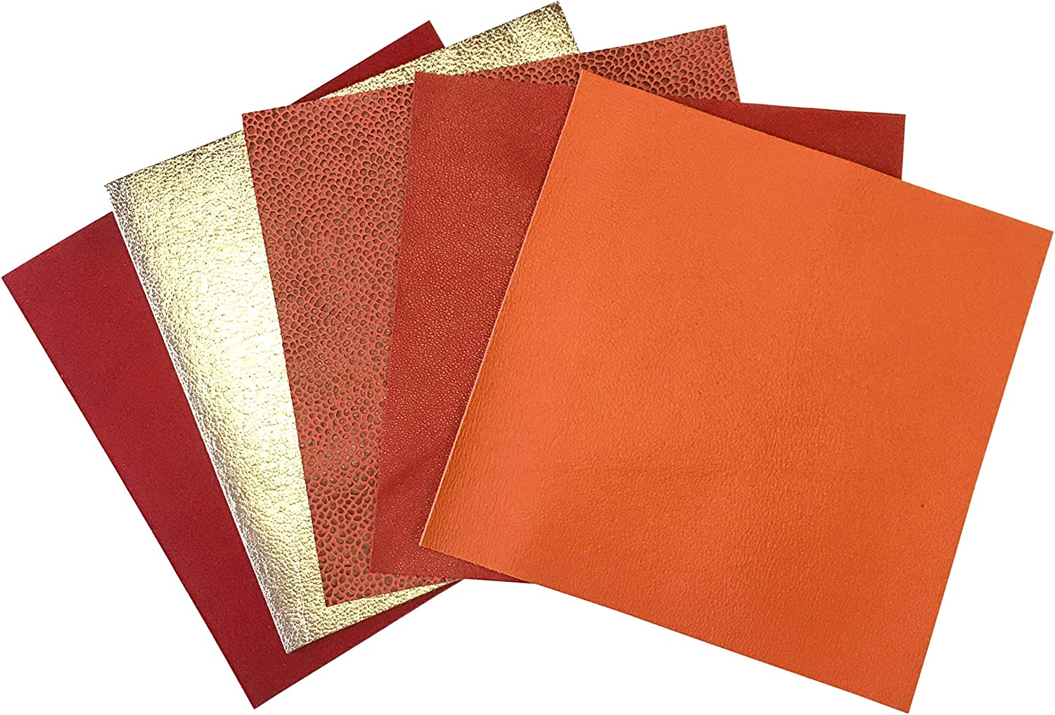 Amazon ANACONDA SCALE LEATHER Printed Genuine Leather Crafting Sheets Size 10\u201dx10\u201d Choose Your Color