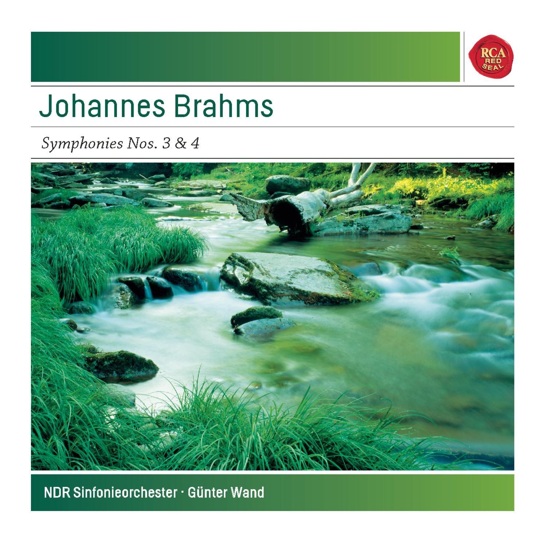 CD : Günter Wand - Symphonies No. 3 & 4 (CD)