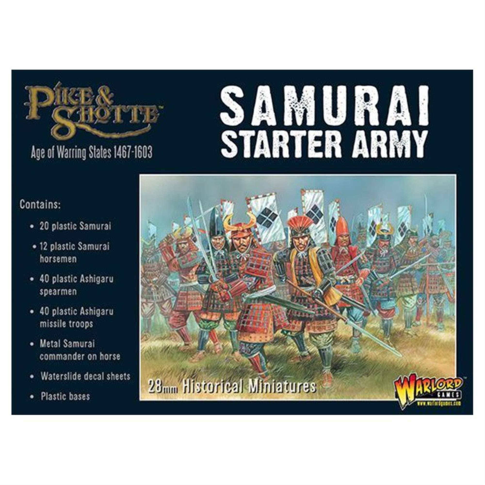 Warlord Games, Pike & Shotte - Samurai Starter Army