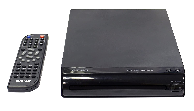 Craig HDMI DVD Player with Remote (CVD401a)