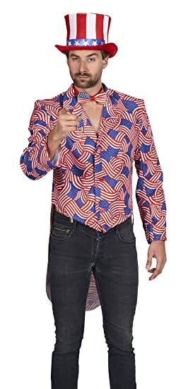 Andrea Moden 593-54/56 - Disfraz de Uncle Sam, Unisex - Adulto ...