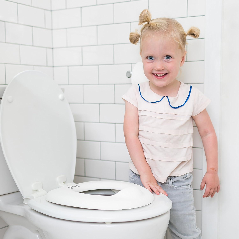 b9d7d98aea4 Amazon.com   Puj Easy Seat - Toddler Toilet Training Potty Seat Ring  (White)   Baby
