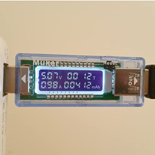 77 opinioni per Muker-TM103 LCD USB Caricabatteria Capacita Current(0A-3.3A) Voltage(4V-9V)