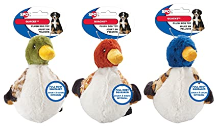 Ethical Pets Quacks Dog Toy, 6-Inch