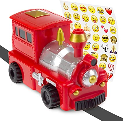 Canadian Model Train Humourous Bumper Sticker