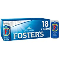 Fosters Lager Beer Can, 18 x 440 ml