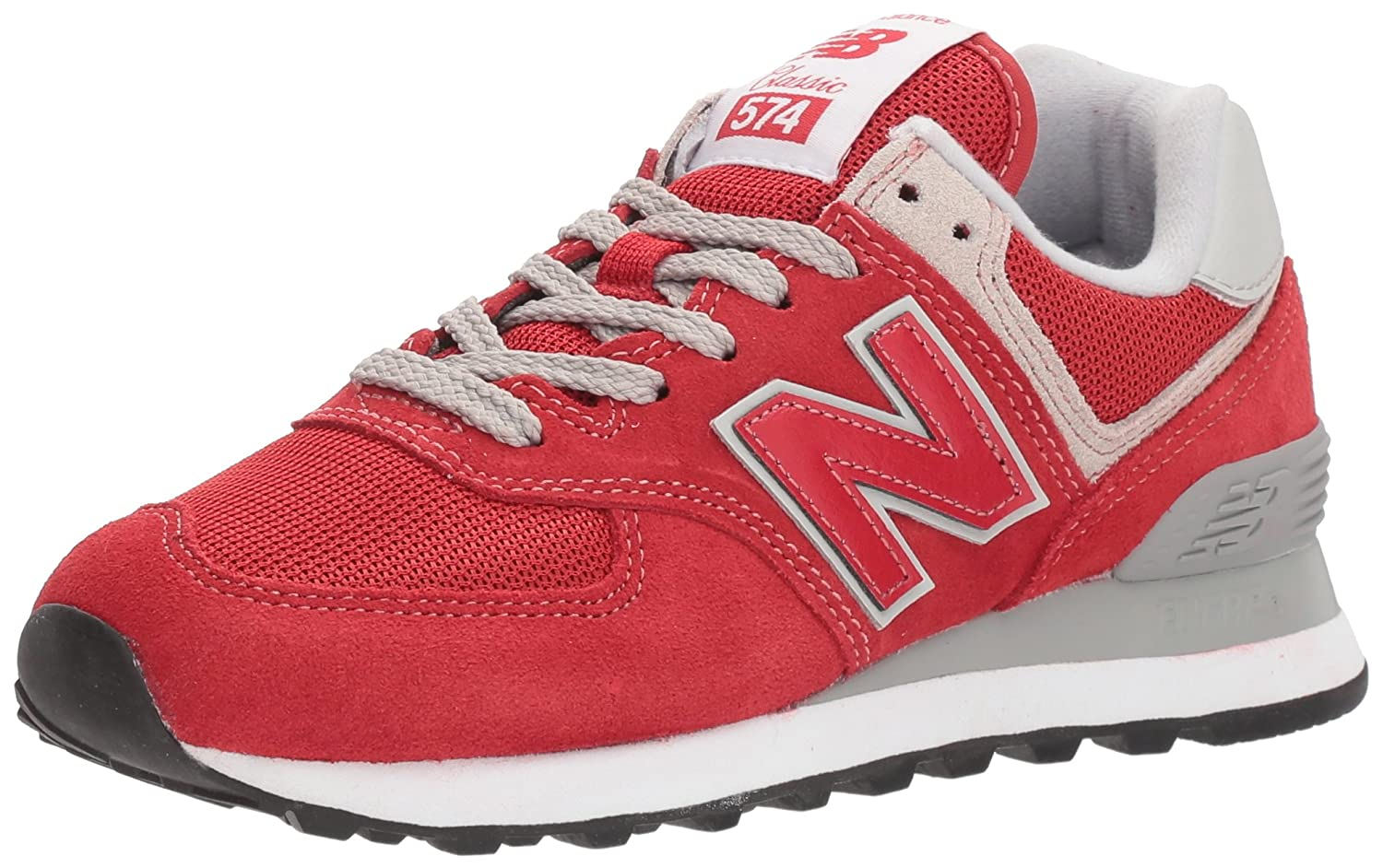 New Balance Herren Ml574E Sneaker,  45 EU|Rot (Team Rot/Ml574erd)