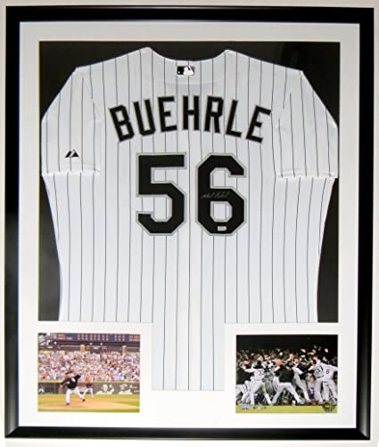 Mark Buehrle Signed Authentic Chicago White Sox Jersey - MLB COA ...