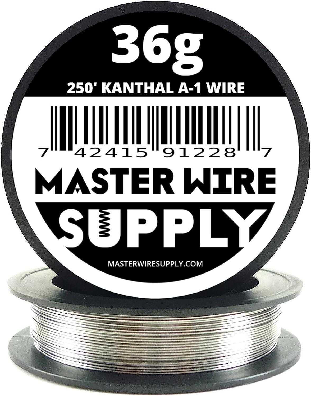 Kanthal A1 - 250' - 36 Gauge Resistance Wire