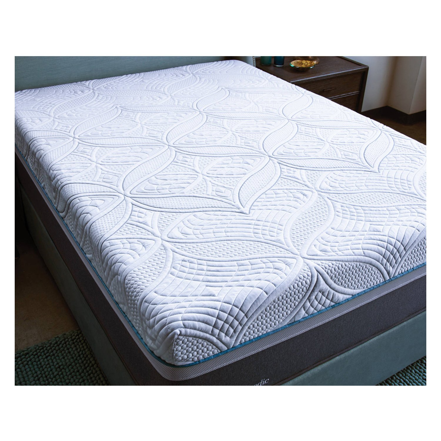 Amazon.com: Sealy Posturepedic Hybrid Cobalt Firm Mattress, King: Kitchen &  Dining