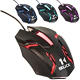 1KLICK M6 2.4Ghz Wired Optical Gaming Mouse (Black)
