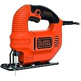 Black+Decker KS501 - Sierra de calar, 400 W, 230 V, color naranja y negro