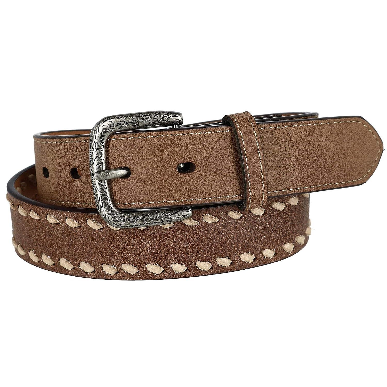 8315300200 G-Bar-D Boys Laced Leather Belt