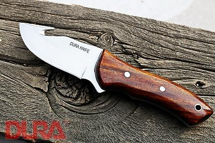 Amazon.com: Dura cuchillos DK-13 madera de nogal hoja de 3 ...