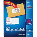 "Avery Shipping Labels with TrueBlock Technology for Inkjet Printers 2"" x 4"", Box of 1,000 (8463)"