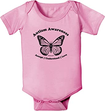 Baby Girls Organic Coverall Autism Acceptance Moms Best Piece-1 Baby Rompers