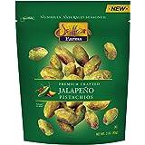 Setton Farms Naturally Seasoned Pistachio Kernels, Jalapeno, No Shell Pistachios, Certified Non-GMO, Gluten Free, Vegan and K