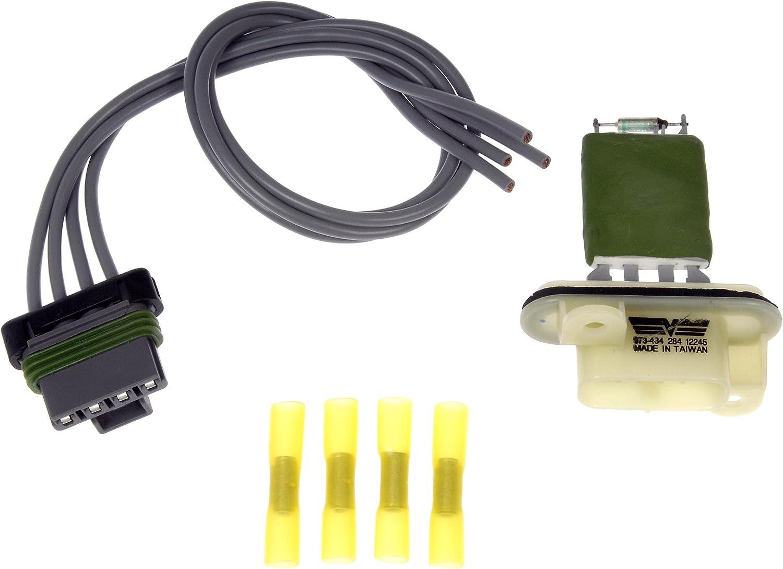 Dorman Kit Blower Motor Resistor New for Chevy 15218254 Chevrolet 973-434