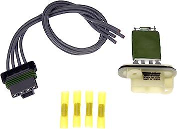 For 2001-2003 Chrysler Voyager HVAC Blower Motor Resistor Kit Dorman 73895CC