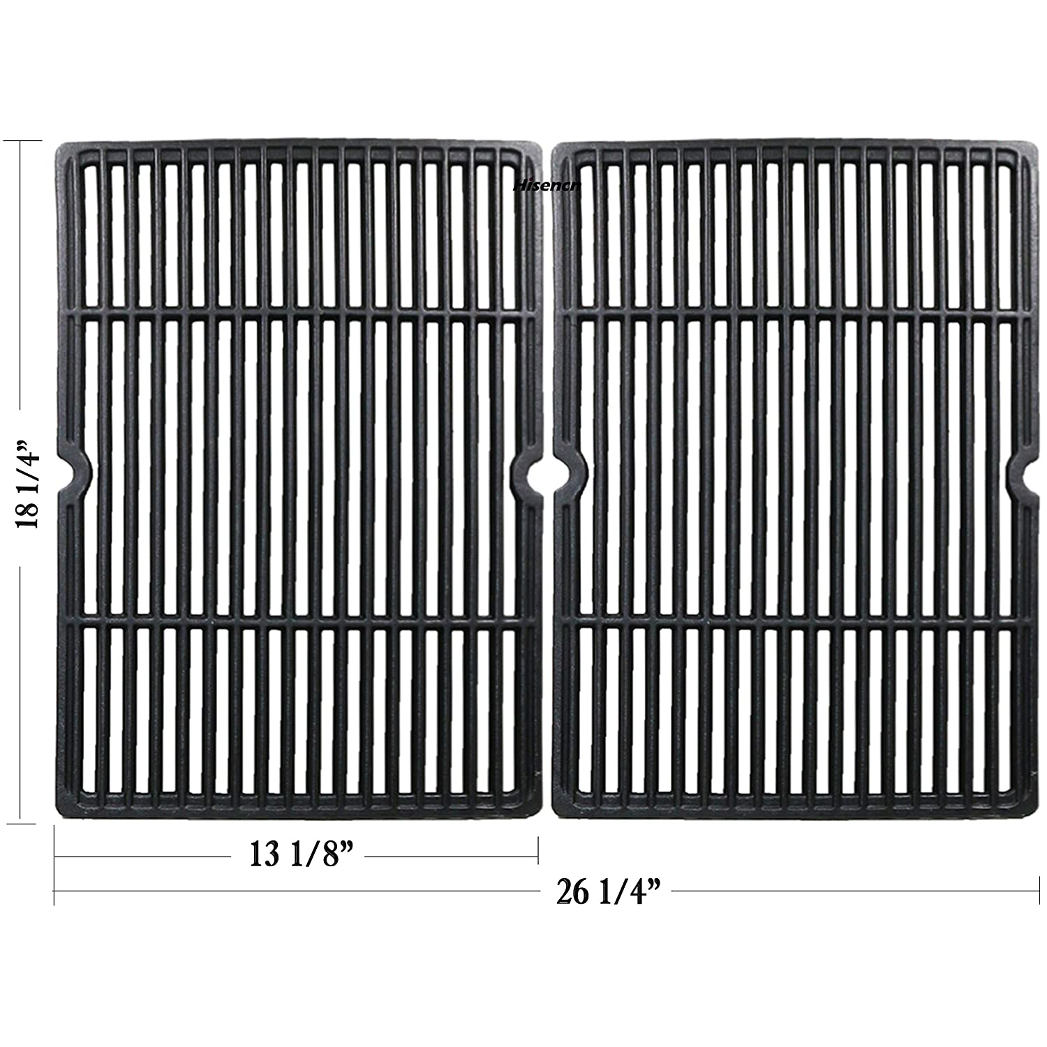 Matte Cast Iron Cooking Grid Replacement for Select Gas G