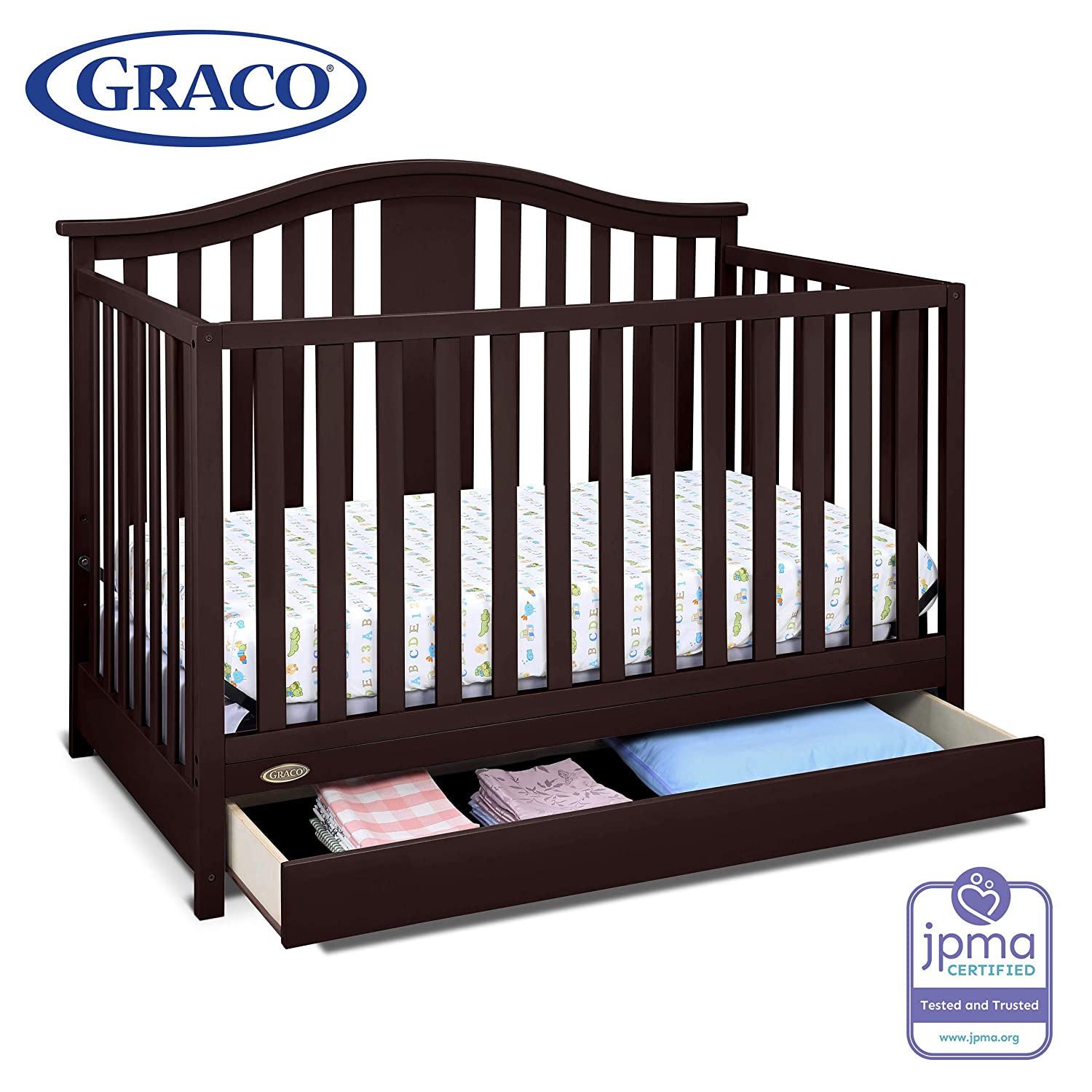 Graco Solano Crib with Drawer: The Best Convenient Crib