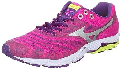 reputable site 85c1c 2f18f Mizuno Women s Wave Sayonara Running Shoe,Pink,6 ...
