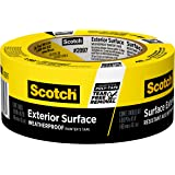 Scotch Painter's Tape 2097-48EC Exterior Surface, 1.88 inch x 45 yard (Pack of 1) - Color May Vary