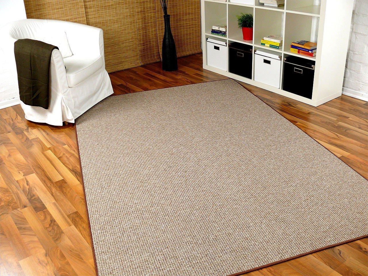 Snapstyle Schlingen Teppich Primo Karamell in 24 Größen