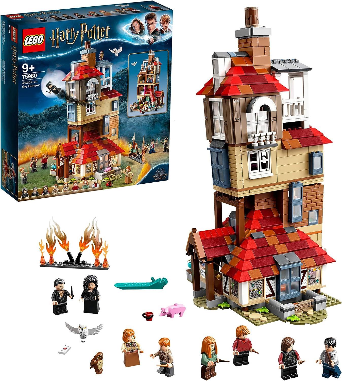 レゴ(LEGO) ハリーポッター 隠れ穴の襲撃 75980