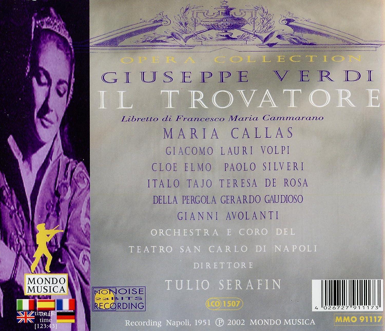 Il Trovatore: Giuseppe Verdi: Amazon.es: Música