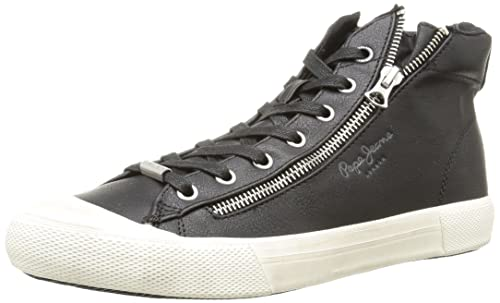 newest f15ea 50ad3 Pepe Jeans - Brother Zip, Sneaker Uomo: Amazon.it: Scarpe e ...