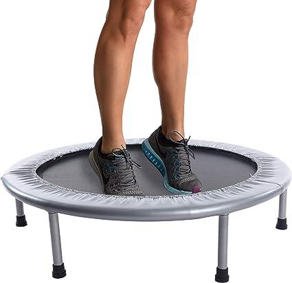 36 Foldable Mini Fitness Trampoline Jump Home Gym Yoga Exercise Rebounder