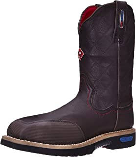 0562af943f4 Amazon.com | Cinch WRX Men's Western Pull-On Square Toe Work Boot ...
